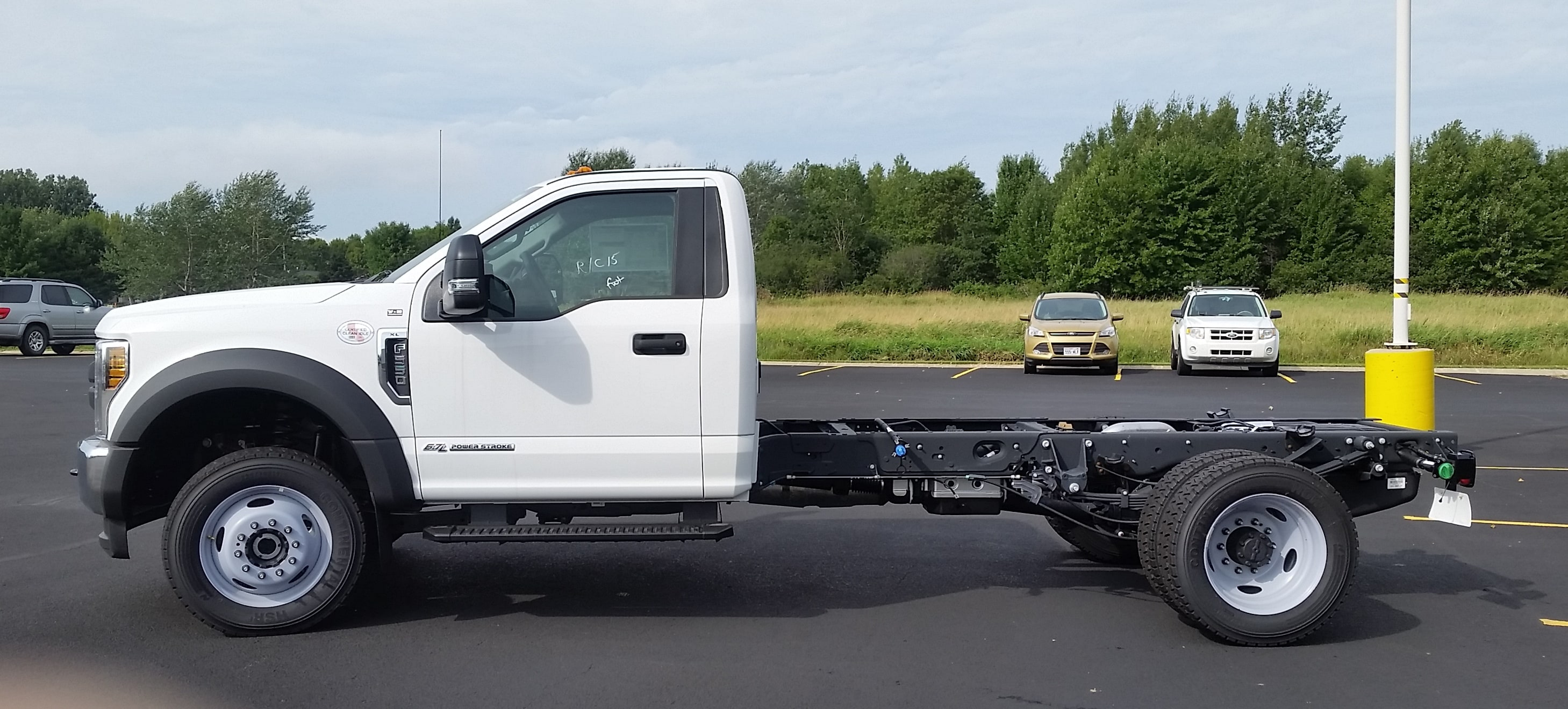 2018 F-550 Regular Cab DRW 4x4,  Cab Chassis #21840 - photo 5
