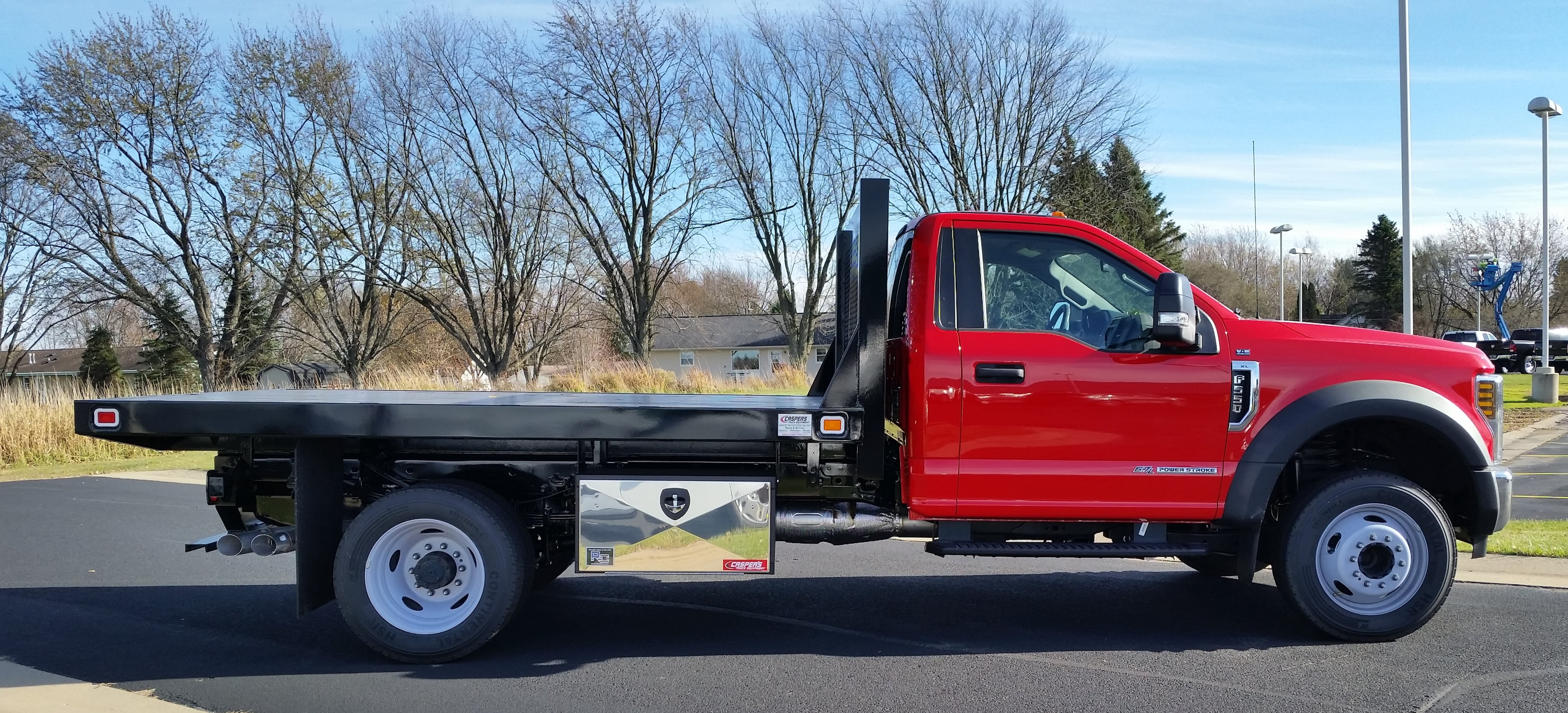 2018 F-550 Regular Cab DRW 4x2,  Knapheide Platform Body #21846 - photo 18