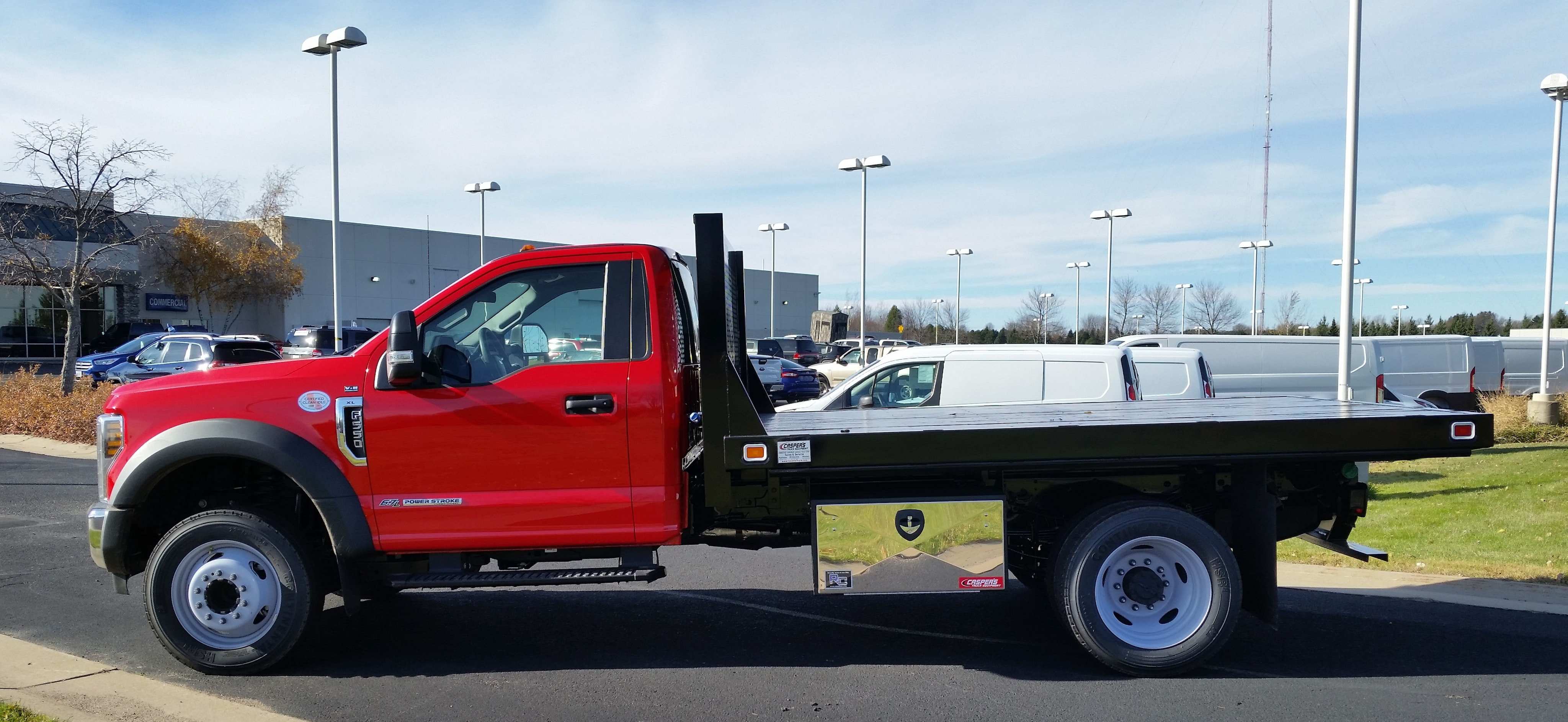 2018 F-550 Regular Cab DRW 4x2,  Knapheide Platform Body #21846 - photo 7