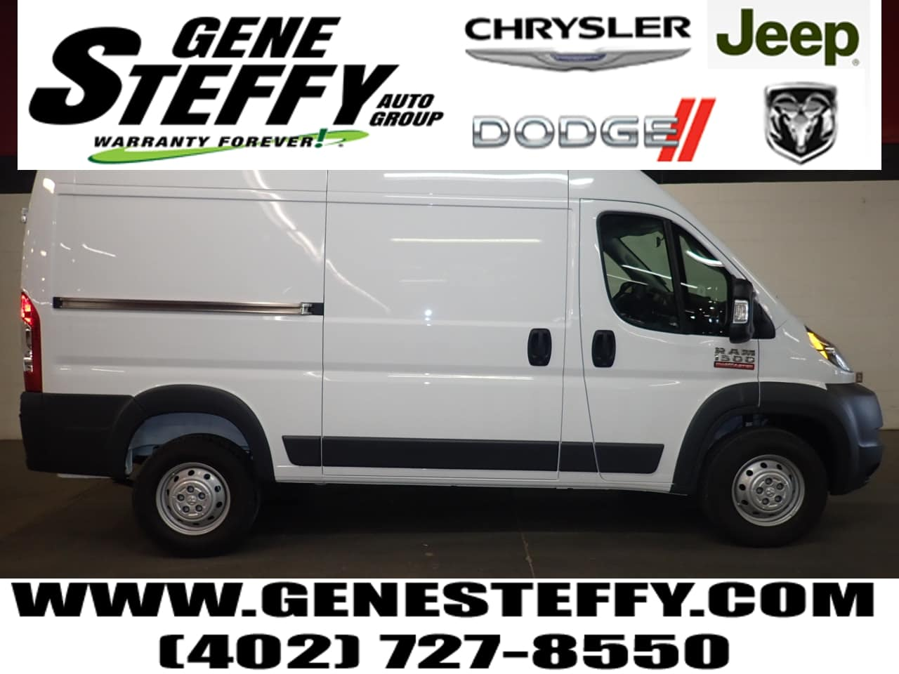 2018 ProMaster 1500 High Roof 4x2,  Empty Cargo Van #JE100197 - photo 1