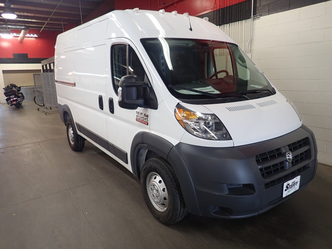 2018 ProMaster 1500 High Roof 4x2,  Empty Cargo Van #JE100197 - photo 3