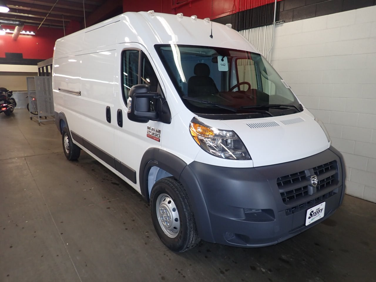 2018 ProMaster 2500 High Roof FWD,  Empty Cargo Van #JE132213 - photo 3