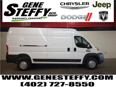 2018 ProMaster 2500 High Roof 4x2,  Empty Cargo Van #JE132214 - photo 1