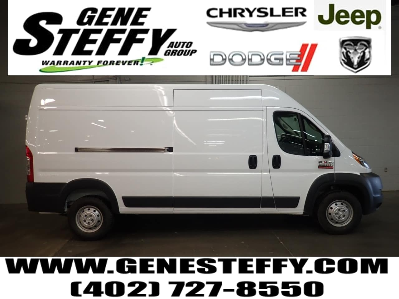 2018 ProMaster 2500 High Roof FWD,  Empty Cargo Van #JE143968 - photo 1