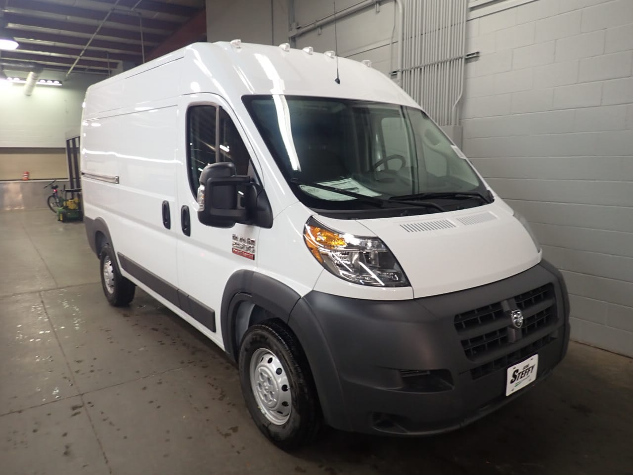 2018 ProMaster 2500 High Roof FWD,  Empty Cargo Van #JE156403 - photo 3