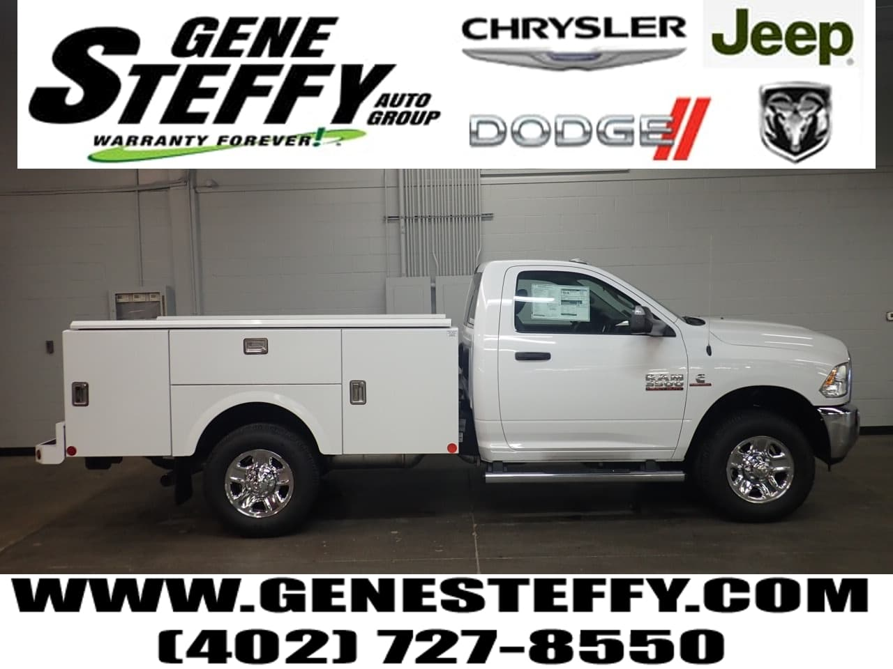 2018 Ram 3500 Regular Cab 4x4,  Stahl Challenger ST Service Body #JG306437 - photo 1