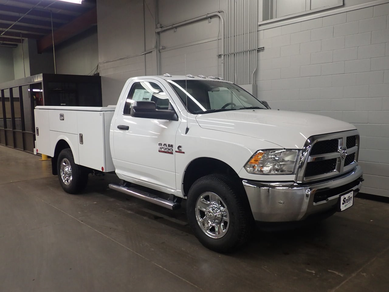 2018 Ram 3500 Regular Cab 4x4,  Stahl Challenger ST Service Body #JG306437 - photo 3