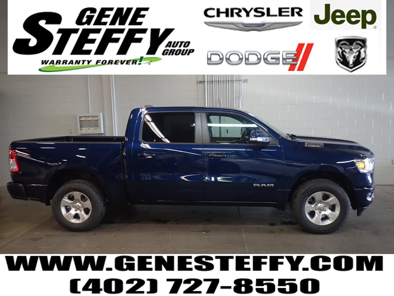 2019 Ram 1500 Crew Cab 4x4,  Pickup #KN619643 - photo 1