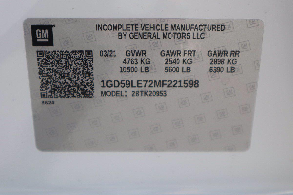 2021 GMC Sierra 2500 Double Cab 4x4, Knapheide Service Body #GM5668 - photo 11