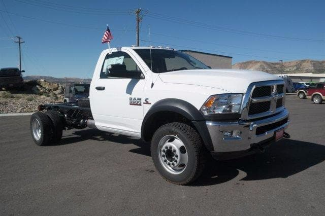 2018 Ram 5500 Regular Cab DRW 4x4, Cab Chassis #6XD18010 - photo 8