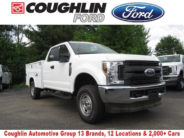 2018 F-250 Super Cab 4x4,  Reading Classic II Steel Service Body #JM8019 - photo 1