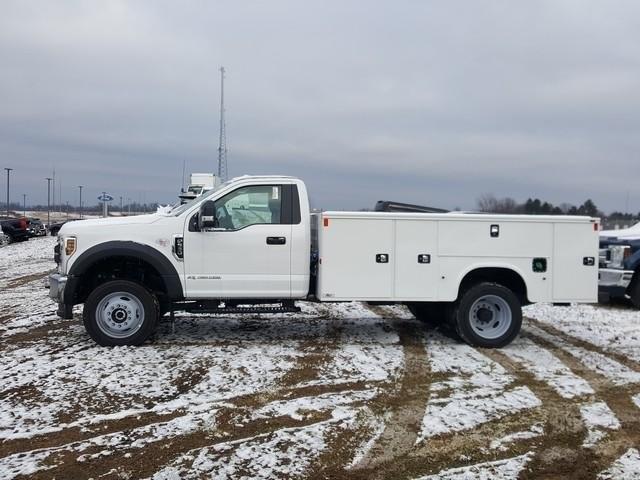2019 Ford F-550 Regular Cab DRW 4x4, Knapheide Steel Service Body #JM9180F - photo 6