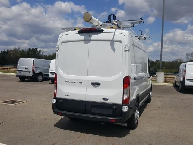 2020 Ford Transit 250 Med Roof AWD, Adrian Steel Upfitted Cargo Van #JM9233F - photo 3