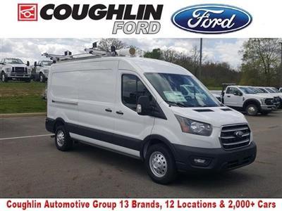 2020 Ford Transit 250 Med Roof AWD, Adrian Steel Upfitted Cargo Van #JM9233F - photo 1