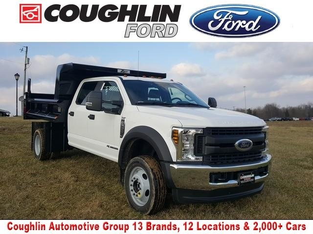 2019 Ford F-550 Crew Cab DRW 4x4, Rugby Dump Body #JM9244F - photo 1