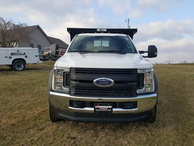 2019 Ford F-550 Crew Cab DRW 4x4, Rugby Z-Spec Dump Body #JM9244F - photo 4