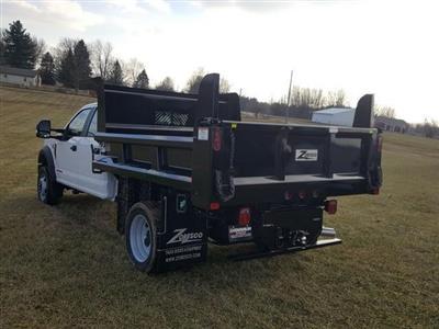 2019 Ford F-550 Crew Cab DRW 4x4, Rugby Z-Spec Dump Body #JM9244F - photo 10