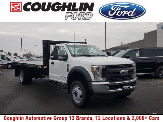 2019 Ford F-550 Regular Cab DRW 4x2, Knapheide Platform Body #JM9254F - photo 1