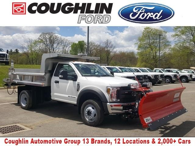 2019 Ford F-550 Regular Cab DRW 4x4, Rugby Dump Body #JM9257F - photo 1