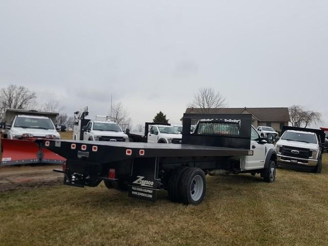 2020 Ford F-550 Regular Cab DRW 4x2, Knapheide Platform Body #JM9267F - photo 1