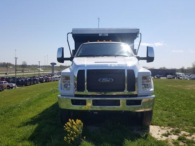 2019 Ford F-750 Regular Cab DRW 4x2, Rugby Titan Dump Body #JM9288F - photo 3