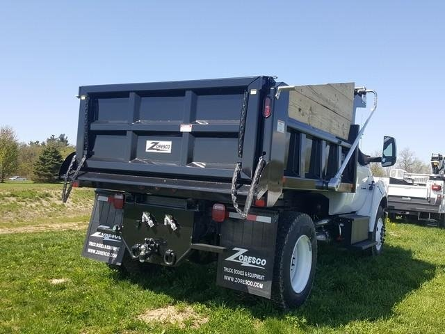 2019 Ford F-750 Regular Cab DRW 4x2, Rugby Dump Body #JM9288F - photo 1