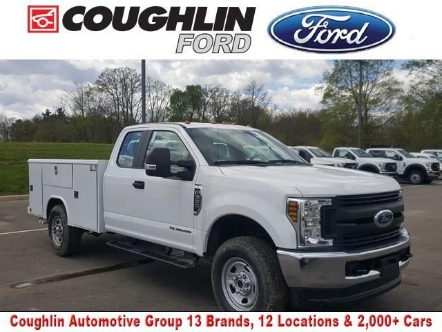 2019 Ford F-350 Super Cab 4x4, Reading Service Body #JM9298F - photo 1