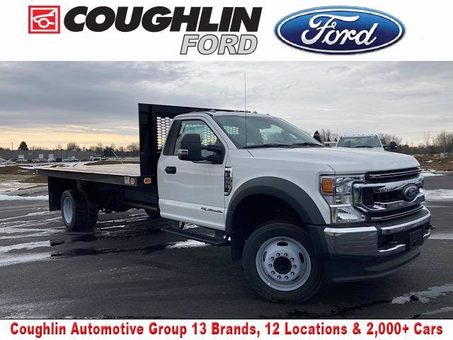 2020 Ford F-550 Regular Cab DRW 4x2, Knapheide Platform Body #JM9318F - photo 1
