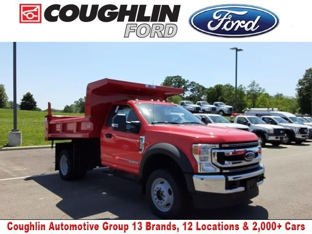 2020 Ford F-550 Regular Cab DRW 4x4, Rugby Dump Body #JM9319F - photo 1