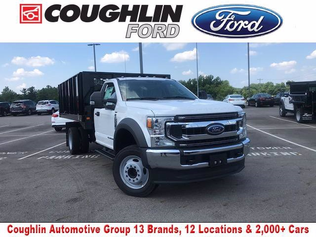 2020 Ford F-550 Regular Cab DRW 4x2, Knapheide Value-Master X Platform Body #JM9348F - photo 1