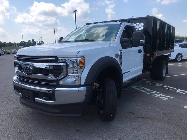 2020 Ford F-550 Regular Cab DRW 4x2, Knapheide Value-Master X Platform Body #JM9348F - photo 4