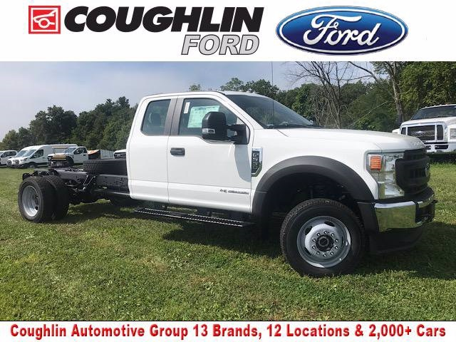 2020 Ford F-550 Super Cab DRW 4x4, Cab Chassis #JM9351F - photo 1