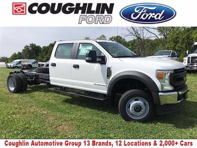 2020 Ford F-550 Crew Cab DRW 4x4, Cab Chassis #JM9360F - photo 1
