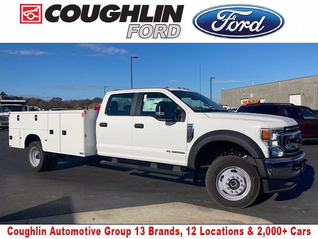 2020 Ford F-550 Crew Cab DRW 4x4, Knapheide Steel Service Body #JM9400F - photo 1