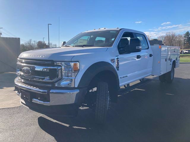 2020 Ford F-550 Crew Cab DRW 4x4, Knapheide Steel Service Body #JM9400F - photo 4
