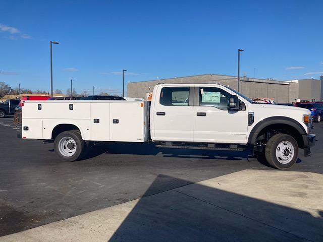 2020 Ford F-550 Crew Cab DRW 4x4, Knapheide Steel Service Body #JM9400F - photo 5