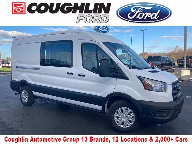 2020 Ford Transit 250 Med Roof 4x2, Weather Guard Empty Cargo Van #JM9402F - photo 1