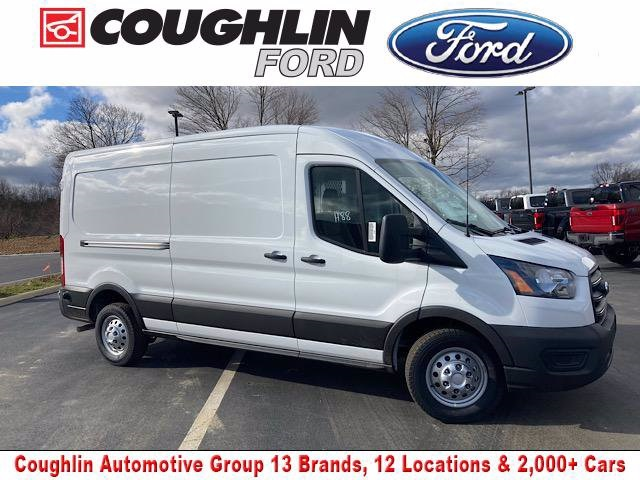 2020 Ford Transit 250 Med Roof AWD, Weather Guard Empty Cargo Van #JM9405F - photo 1