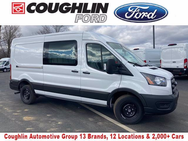 2020 Ford Transit 250 Med Roof 4x2, Weather Guard Empty Cargo Van #JM9407F - photo 1