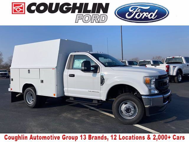 2020 Ford F-350 Regular Cab DRW 4x4, Reading Service Body #JM9408F - photo 1