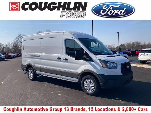 2021 Ford Transit 250 Medium Roof 4x2, Weather Guard Empty Cargo Van #JM9464F - photo 1