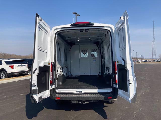 2021 Ford Transit 250 Medium Roof 4x2, Weather Guard Empty Cargo Van #JM9468F - photo 1