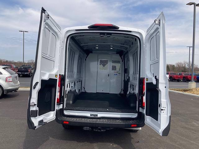 2021 Ford Transit 250 Medium Roof 4x2, Weather Guard Empty Cargo Van #JM9495F - photo 1