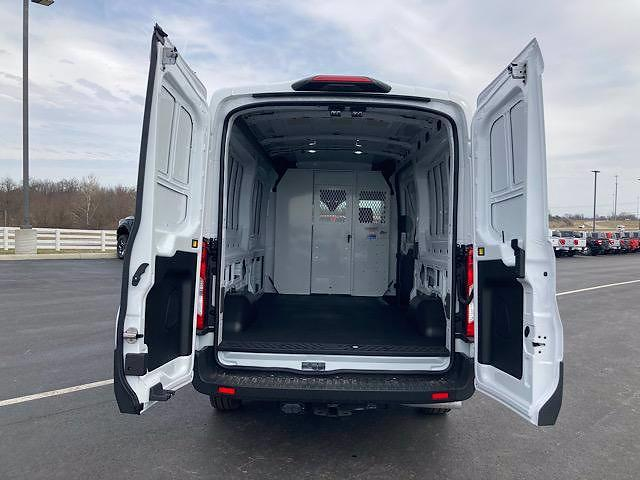 2021 Ford Transit 250 Medium Roof 4x2, Weather Guard Empty Cargo Van #JM9497F - photo 1