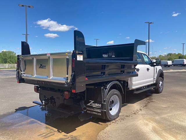 2021 Ford F-550 Crew Cab DRW 4x4, Rugby Dump Body #JM9521F - photo 1