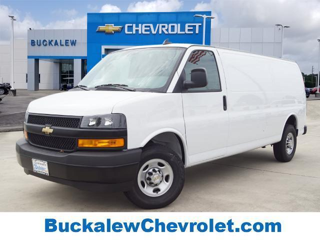 2020 Chevrolet Express 3500 RWD, Adrian Steel Commercial Shelving Upfitted Cargo Van #T202063 - photo 1