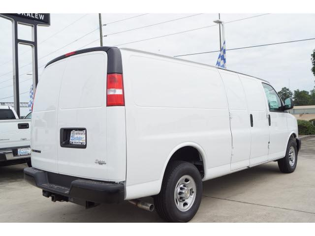 2020 Chevrolet Express 3500 RWD, Adrian Steel Commercial Shelving Upfitted Cargo Van #T202063 - photo 3