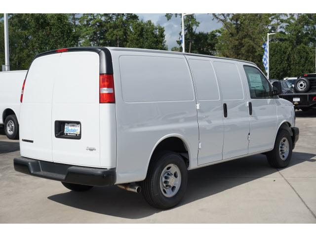 2020 Chevrolet Express 2500 RWD, Adrian Steel Commercial Shelving Upfitted Cargo Van #T202076 - photo 2