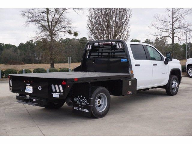 2021 Chevrolet Silverado 3500 Crew Cab 4x4, CM Truck Beds Platform Body #T210551 - photo 1
