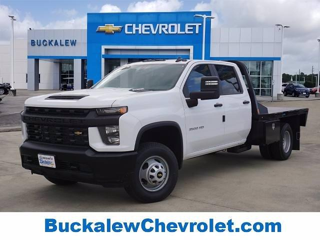 2021 Chevrolet Silverado 3500 Crew Cab 4x4, CM Truck Beds Platform Body #T210552 - photo 1
